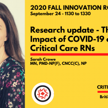 2020 Fall Innovation Roundtable - Sarah Crowe