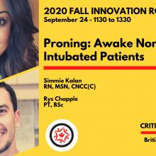 2020 Fall Innovation Roundtable - Simmie Kalan & Rys Chapple