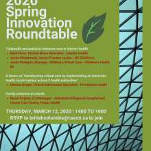 2020 Spring Innovation Roundtable