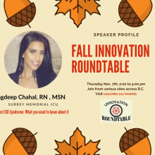 fall Innovation Roundtable
